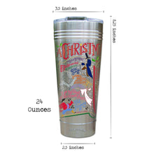 Load image into Gallery viewer, Christmas Carol Thermal Tumbler Thermal Tumbler catstudio