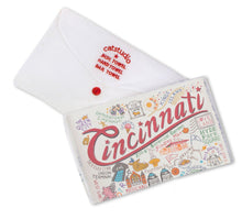 Load image into Gallery viewer, Cincinnati Dish Towel - catstudio