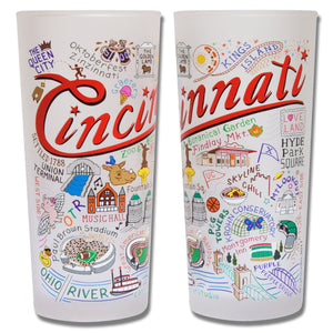 Cincinnati Drinking Glass - catstudio