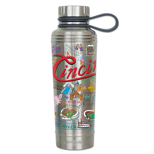 Cincinnati Thermal Bottle - catstudio