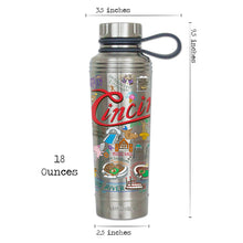 Load image into Gallery viewer, Cincinnati Thermal Bottle - catstudio