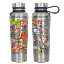Load image into Gallery viewer, Clemson University Collegiate Thermal Bottle - catstudio