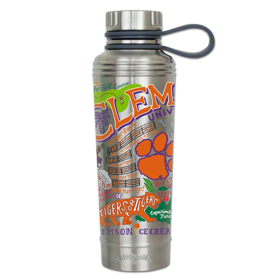 Clemson University Collegiate Thermal Bottle - catstudio