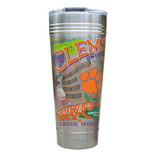 Load image into Gallery viewer, Clemson University Collegiate Thermal Tumbler (Set of 4) - PREORDER Thermal Tumbler catstudio