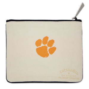Clemson University Collegiate Zip Pouch - catstudio