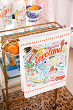 Load image into Gallery viewer, Cleveland Dish Towel - catstudio