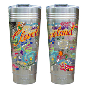 Cleveland Thermal Tumbler (Set of 4) - PREORDER Thermal Tumbler catstudio