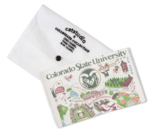 Load image into Gallery viewer, Colorado State University Collegiate Dish Towel - catstudio