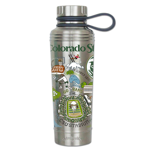 Colorado State University Collegiate Thermal Bottle - catstudio