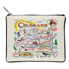 Load image into Gallery viewer, Colorado Zip Pouch - catstudio