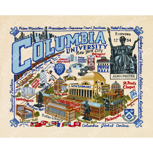Columbia University Collegiate Fine Art Print - catstudio