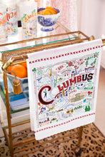 Load image into Gallery viewer, Columbus Dish Towel - catstudio
