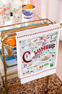 Columbus Dish Towel - catstudio