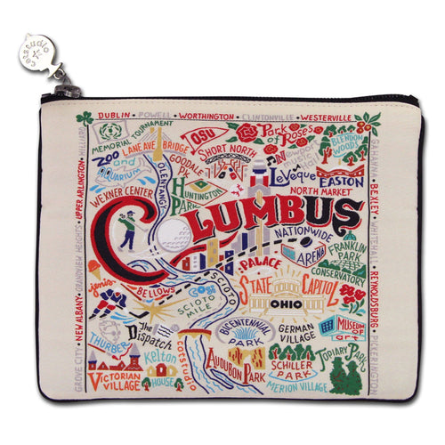Columbus Zip Pouch - Coming Soon! Pouch catstudio