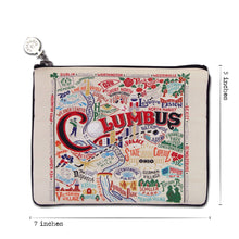 Load image into Gallery viewer, Columbus Zip Pouch - catstudio