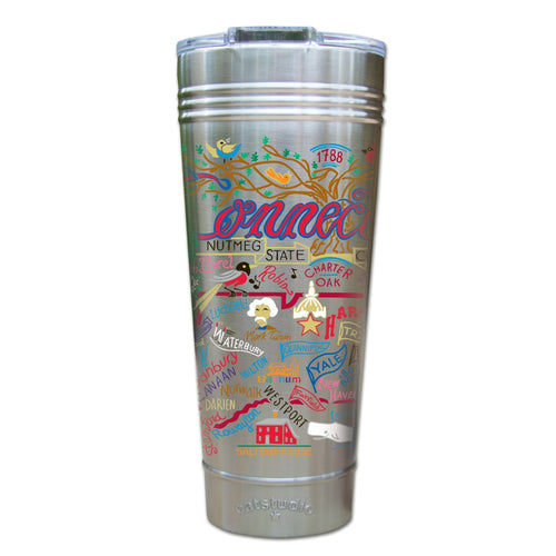 Connecticut Thermal Tumbler (Set of 4) - PREORDER Thermal Tumbler catstudio