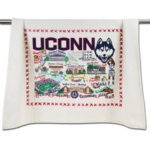 Load image into Gallery viewer, Connecticut, University of Collegiate Dish Towel - catstudio