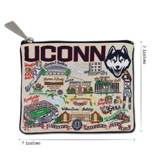 Load image into Gallery viewer, Connecticut, University of Collegiate Zip Pouch - catstudio