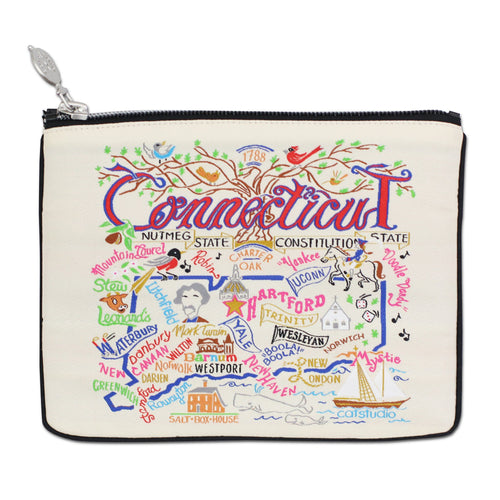 Connecticut Zip Pouch - Natural - catstudio