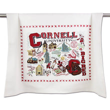 Load image into Gallery viewer, Cornell University Collegiate Dish Towel - catstudio