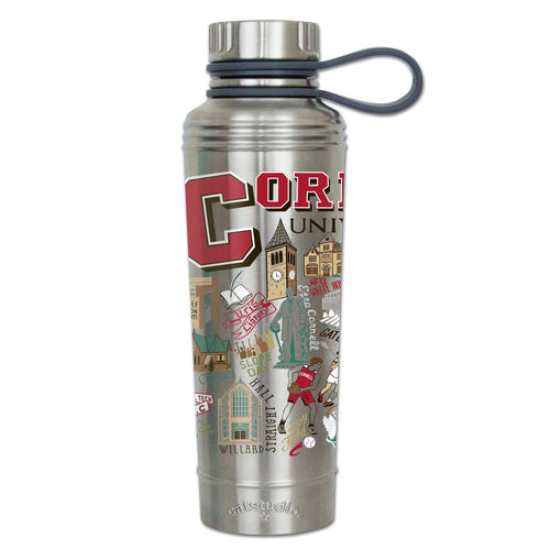 Cornell University Collegiate Thermal Bottle - catstudio