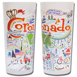 Coronado Drinking Glass - catstudio