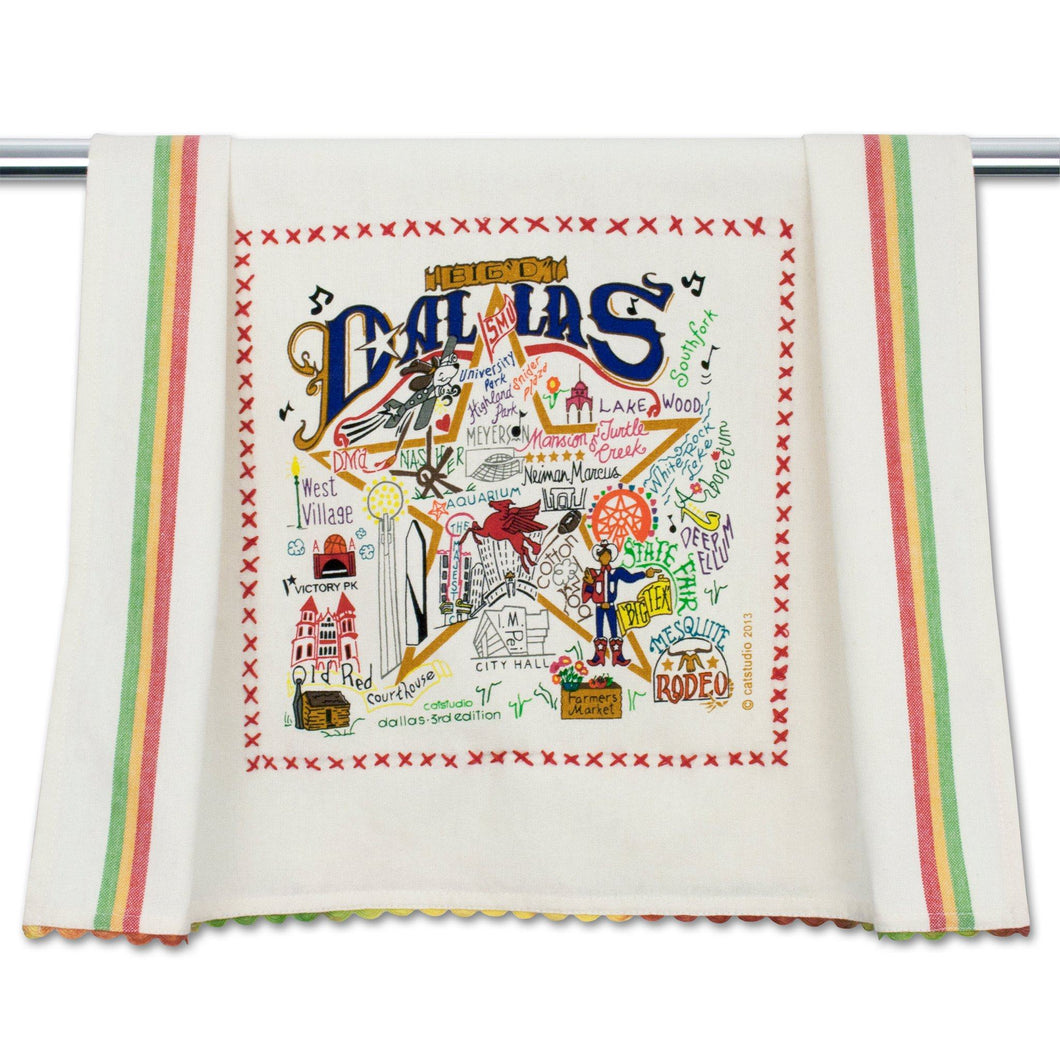 Dallas Dish Towel - catstudio