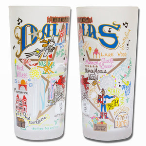Dallas Drinking Glass - catstudio