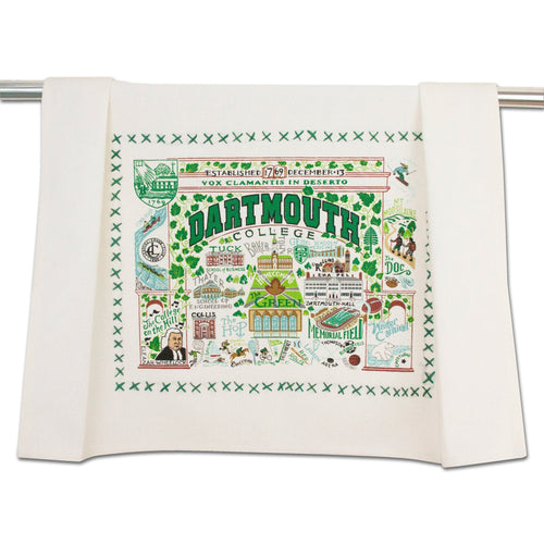 Dartmouth College Collegiate Dish Towel Dish Towel catstudio