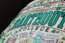 Load image into Gallery viewer, Dartmouth College Collegiate Embroidered Pillow Pillow catstudio