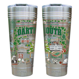 Dartmouth College Collegiate Thermal Tumbler Thermal Tumbler catstudio