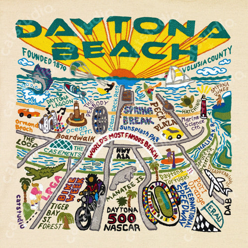 Daytona Beach Fine Art Print - catstudio