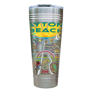 Daytona Beach Thermal Tumbler (Set of 4) - PREORDER Thermal Tumbler catstudio