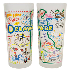 Delaware Drinking Glass - catstudio