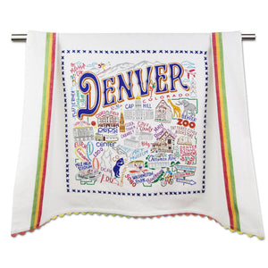 Denver Dish Towel - catstudio