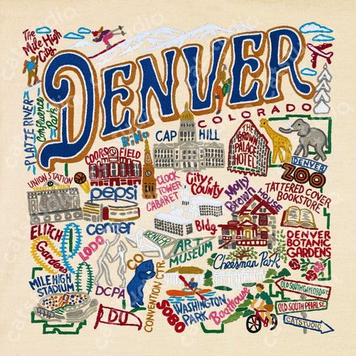 Denver Fine Art Print - catstudio
