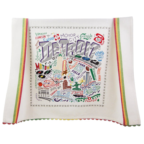 Detroit Dish Towel - Coming Soon! - catstudio