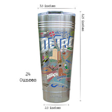 Load image into Gallery viewer, Detroit Thermal Tumbler (Set of 4) - PREORDER Thermal Tumbler catstudio