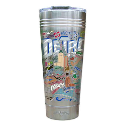 Detroit Thermal Tumbler (Set of 4) - PREORDER Thermal Tumbler catstudio