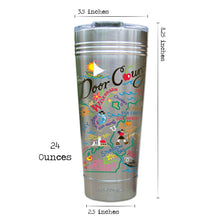 Load image into Gallery viewer, Door County Thermal Tumbler (Set of 4) - PREORDER Thermal Tumbler catstudio
