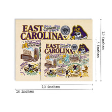 Load image into Gallery viewer, East Carolina University Collegiate Fine Art Print - catstudio