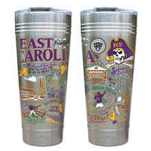 Load image into Gallery viewer, East Carolina University Collegiate Thermal Tumbler (Set of 4) - PREORDER Thermal Tumbler catstudio