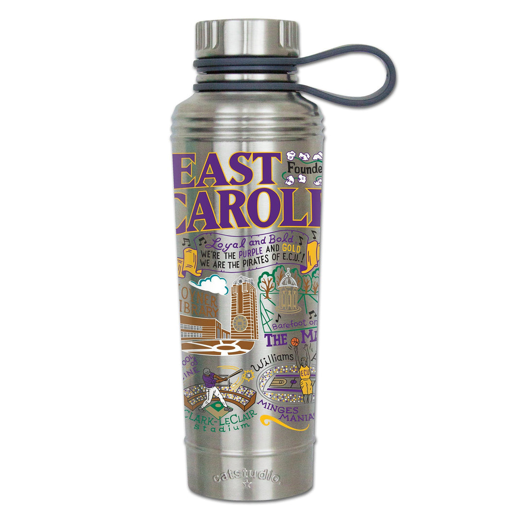 East Carolina University Collegiate Thermal Bottle - catstudio
