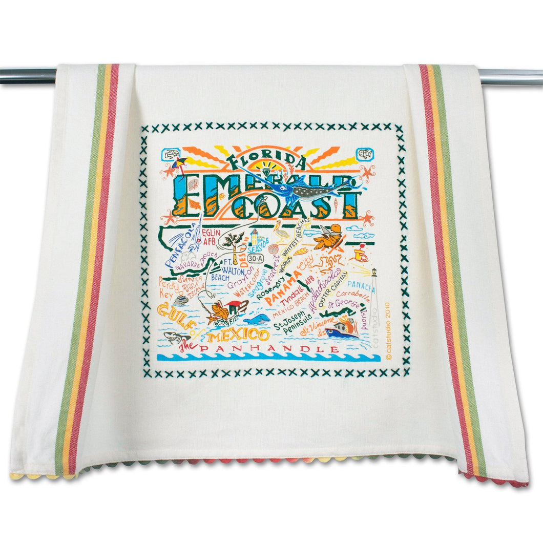 Emerald Coast Dish Towel - catstudio