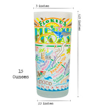 Load image into Gallery viewer, Emerald Coast Drinking Glass - catstudio
