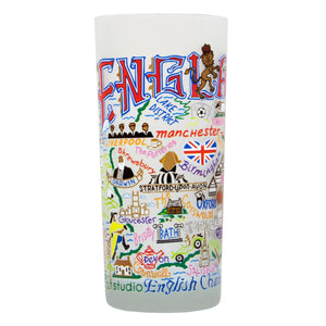 England Drinking Glass - catstudio