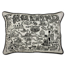 Load image into Gallery viewer, England Hand-Guided Machine Pillow - catstudio