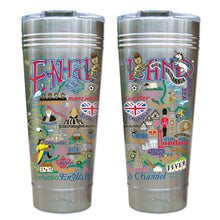 Load image into Gallery viewer, England Thermal Tumbler (Set of 4) - PREORDER Thermal Tumbler catstudio