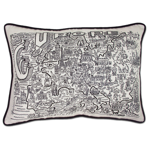 Europe Hand-Guided Machine Pillow - catstudio