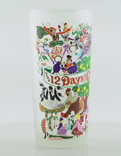 Load and play video in Gallery viewer, 12 Days of Christmas Drinking Glass